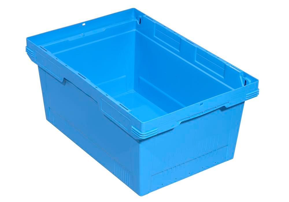 Bac gerbable multi-usage classic-line D, 600 x 400 x 323 mm, bleu, UV = 2 pcs